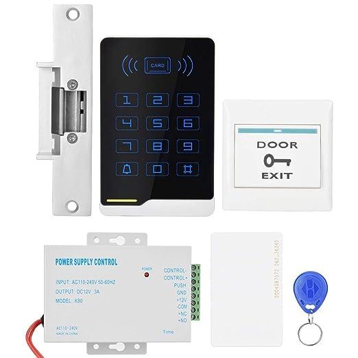 Xinwoer Kit de Unidad de Control de Acceso de Puerta ...