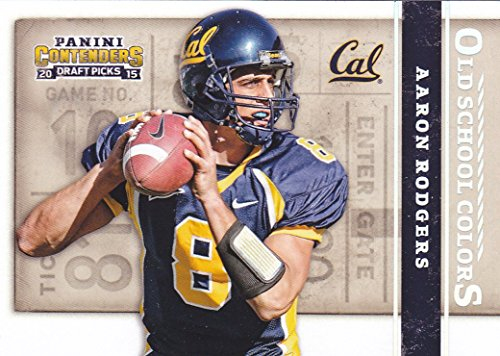 2015 PANINI CONTENDERS OLD SCHOOL COLORS AARON RODGERS