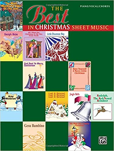 The Best In Christmas Sheet Music Pianovocalchords Alfred Music
