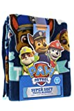 """Paw Patrol Super Comfy & Soft Travel Blanket/Throw with PAWfect Team Design 40"""" x 50"""""""