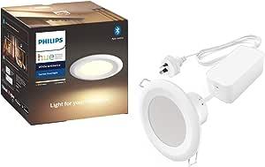 Philips Hue Garnea 90mm White Ambiance Downlight
