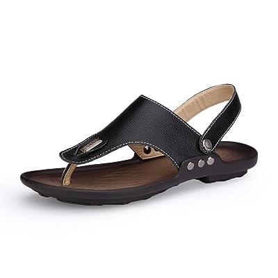 3d1148473b1 Été sandales respirante Sandales d homme sandales Thong