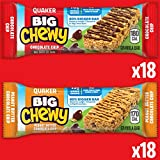 Quaker Big Chewy Granola Bars, 60% Larger, 2 Flavor