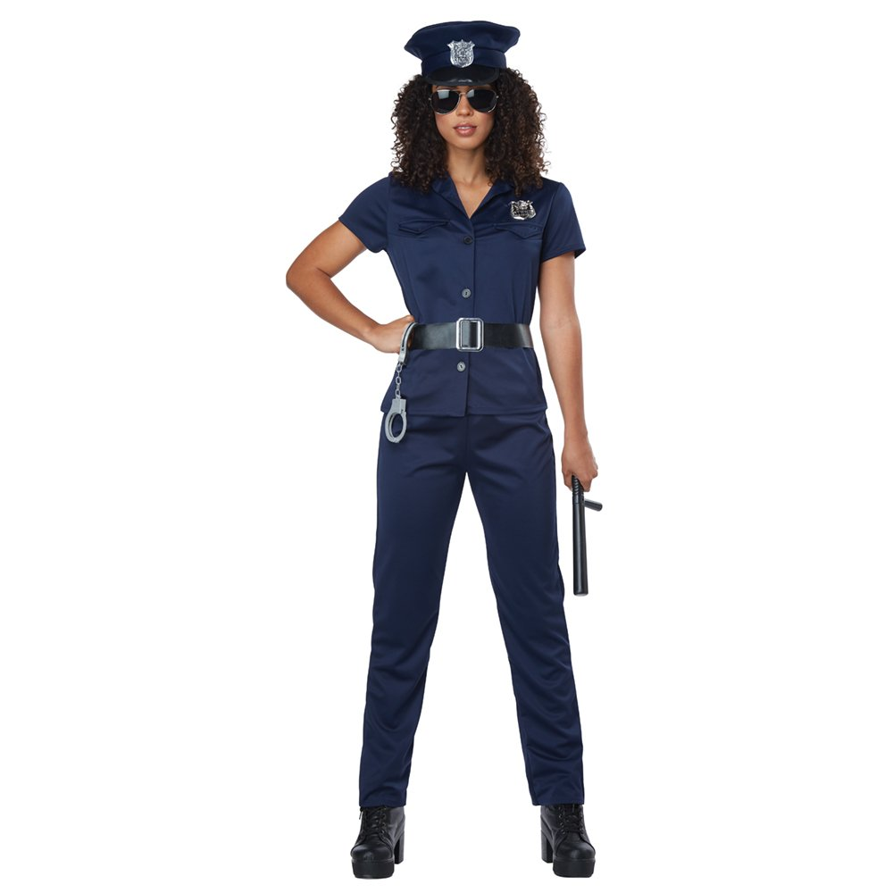California Costumes Police Woman Costume