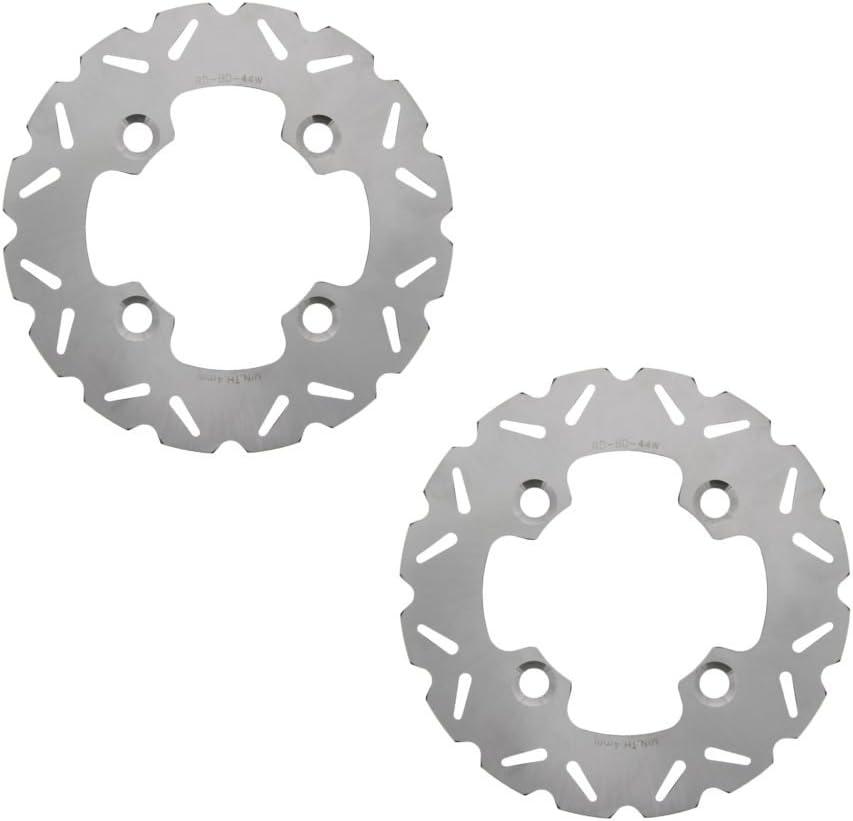 2011-2013 Polaris RZR XP 900 Razor Rear RipTide Stainless Steel Brake Rotors