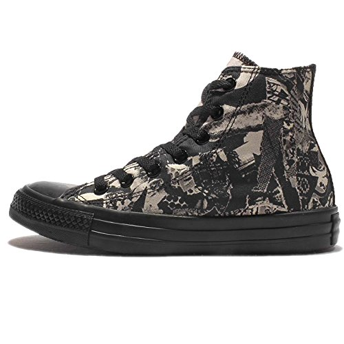 Converse All Star Print Femme Baskets Mode Noir
