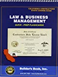 Contractor's State License Study Guide for the Law and Business Examination, Jason P. Lucente; Contractors License Specialist, 1889892270