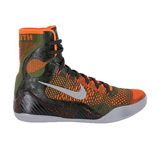 Nike Shoe Rough Elite Sequoia Men's Green Crimson IX Silver Basketball reflect hyper Kobe 16qxA41T