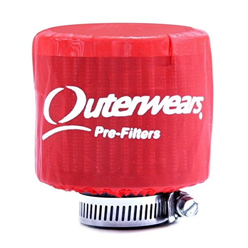 Red Outerwear Prefilter With Top Round 3
