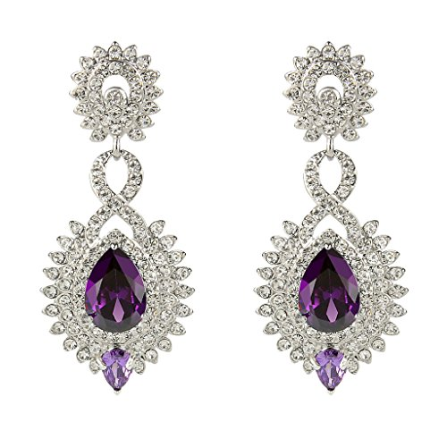 EVER FAITH Victorian 8 Shaped Earrings product image