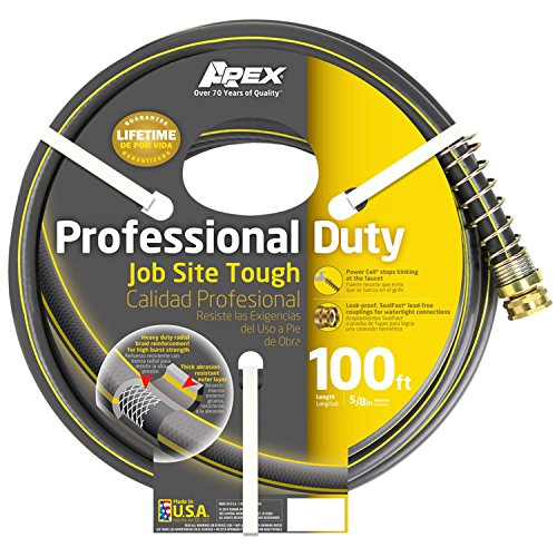 Teknor Apex Apex, 888VR-100, Professional Duty Water Hose, 5/8 Inch by 100 Feet by Teknor Apex