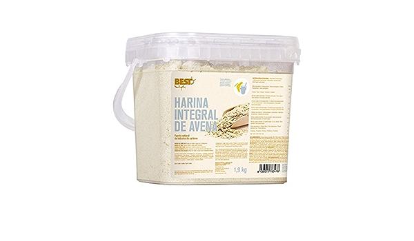 Best Protein HARINA DE AVENA INTEGRAL - neutro - 1,9kg