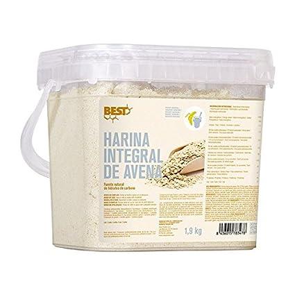HARINA DE AVENA INTEGRAL 1,9kg - neutro