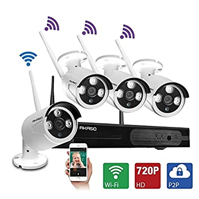AKASO Wifi/Wireless Security Camera System