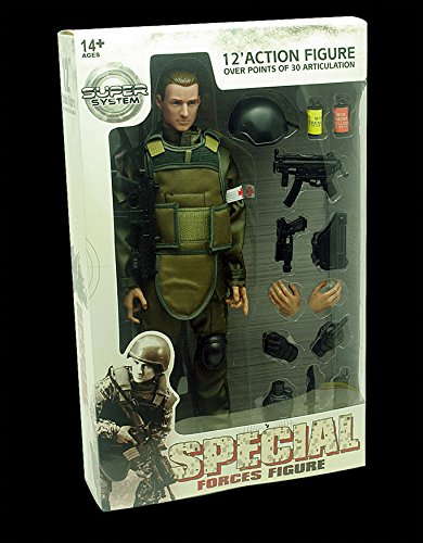 """New Military Soldier 12"""" Action Figure Cosplay Medic Combat 1/6 Model Toys Suit"""