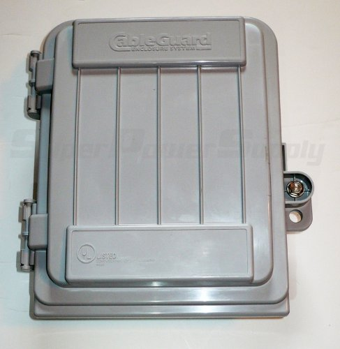 CableGuard CG-500 Coax Demarcation Enclosure ()