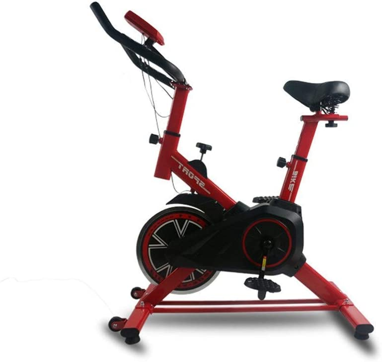 WZB-フィットネス機器耐久性のある室内アドバンスト自転車トレーナートレーニングコンピュータと楕円形クロスエクササイズバイク滑り止め