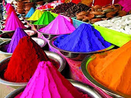 10 Colors x 50 grams - CraZeeColors(TM) Premium Holi Color Powder by CraZeeColors(TM)