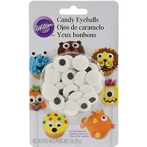 Wilton 710-0133 Candy Eyeballs, Large