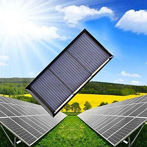 LINKLANK Solarpanel Polykristalline Solarpanel 60 x 30 mm 1,5 V 150 mA Solarpanel Polykristalline Epoxid-Klebeplatte