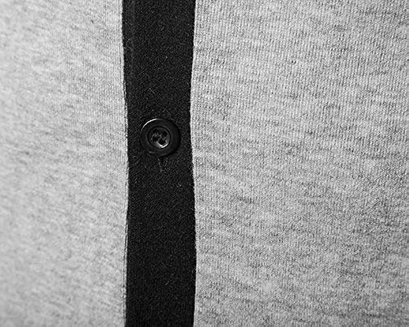 Suncaya męski sweter Cardigan sweter kurtka dziana płaszcz Revers listwa guzikowa jesień i zima: Odzież