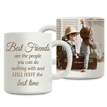 Giftsbymeeta Ceramic Best Friends Personalized Coffee Mug (White ...