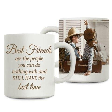 Buy Giftsbymeeta Ceramic Best Friends Personalized Coffee Mug White Online At Low Prices In India