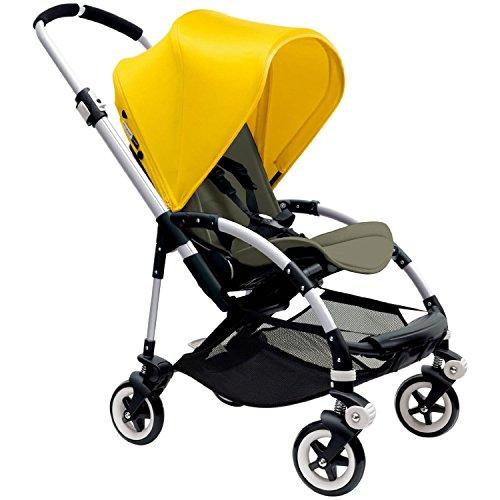 Bugaboo Bee3 Stroller Bright Aluminum