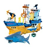 Toy / Game Mattel Matchbox Mega Rig Shark Adventure - Combine Your Mega Pieces To Build Over 30 Vehicles!