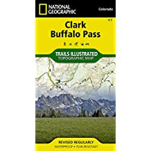 Clark, Buffalo Pass (National Geographic Trails Illustrated Map)
