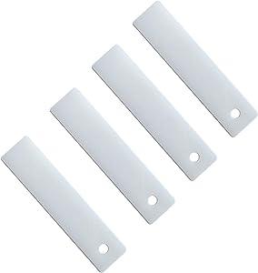 LONYE WE1M504 Dryer Drum Bearing Slide for GE Hotpoint Kenmore Dryer WE1M333 WE1M481 PS755842(Pack of 4)