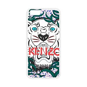 Plastic Cases Cccup iPhone 6 Plus 5.5 Inch Cell Phone Case White Kenzo Generic Design Back Case Cover