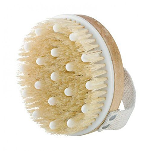 Foot Brush Handled Boar-Bristle Brush Face Brush Natural Bristle Beechwood