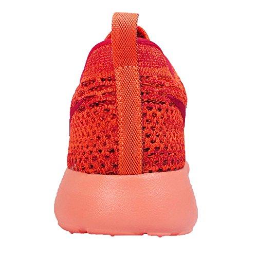 Zapatillas De Running Nike Roshe One Flyknit Para Mujer Total Naranja / Gimnasio Rojo-negro-puesta De Sol Glow