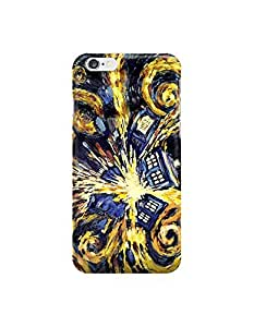 """Doctor Who Van Gogh's Exploding Tardis ?custom iPhone 6 4.7 inches case,durable iphone 6 hard full wrap back case cover for iphone 6 4.7"""""""