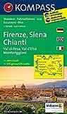 Carta escursionistica n. 2458. Firenze, Siena, Chianti. Adatto a GPS. DVD-ROM. Digital map