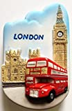 Red Bus and Big Ben London High Quality Resin 3D