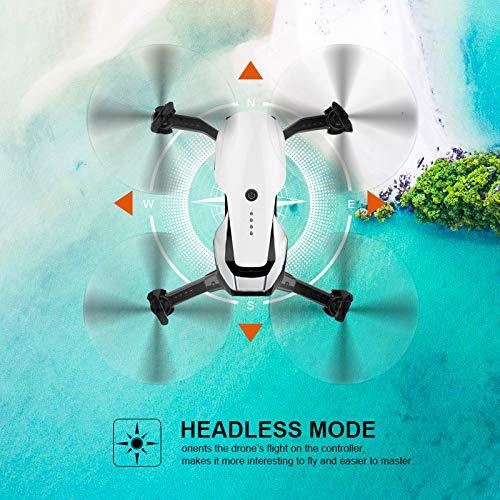 EACHINE E511 Drone con Telecamera HD 1080P Pieghevole Drone con WiFi FPV App Mobile Controllo Grandangolare Selfie 2.4GHz