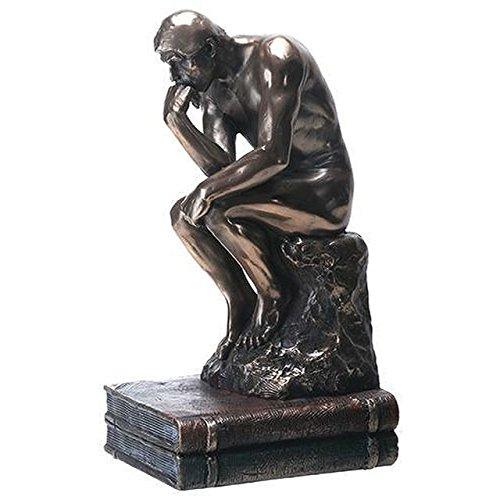Veronese (ヴェロネーゼ) 考える人 ロダン 複製 置物 ブロンズ風 フィギュア B01MSOD4VH