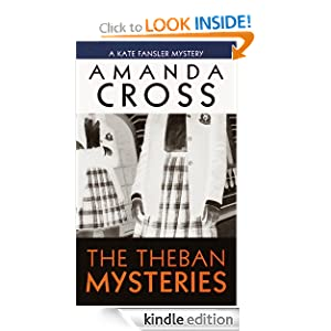 The Theban Mysteries (Kate Fansler Novels) Amanda Cross