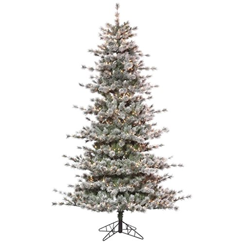 (Vickerman Frosted Lacey Pine Christmas Tree)