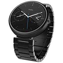 Motorola Moto 360 Dark Metal Smart Watch