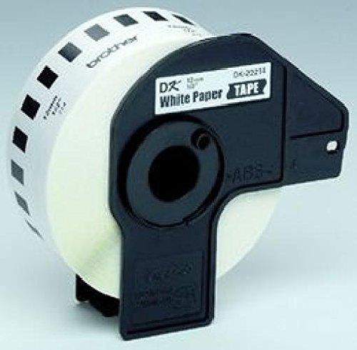 3 ST ST ST Brother® DK-22214 DK-Endlosetiketten Papier-Etiketten Größe (B x L) 12 mm x 30,48 m Farbe weiß B004CQTL6C | Online Shop  49b538