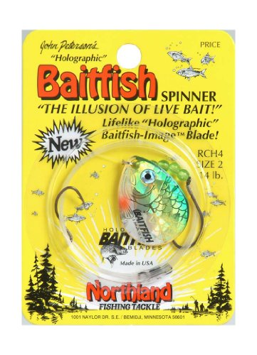 - Northland Tackle Baitfish Spinner Harness Rig, Yellow Perch, 2-4 Hook