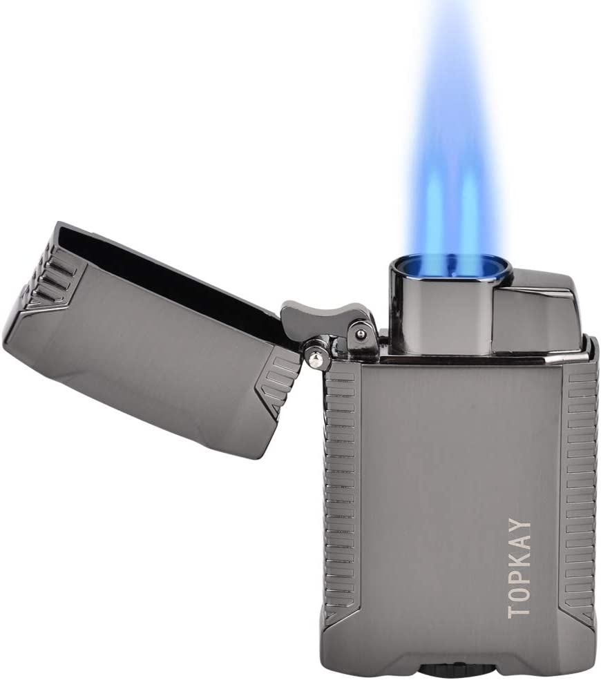 3 X RAW GAS REFILLABLE CLASSIC LIGHTER BLACK TOP LIGHTER GREAT Gift