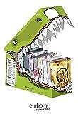 einhorn Kondome - Geschenk Special - Super Dino - 63 Stück - vegan + 2 Überraschungsstempel