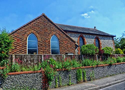 (Home Comforts Framed Art for Your Wall Worship UK Surrey England Methodist Church Prayer Vivid Imagery 10 x 13 Frame)
