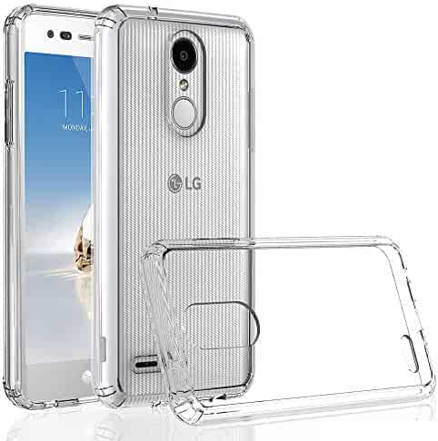 RKINC Case for LG Rebel 4, Reinforced Corners Soft Cushion TPU Bumper + Hybrid Crystal Clear Rugged Hard Transparent Cover for LG Rebel 4