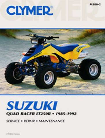 amazon com 1985 1992 suzuki lt250r quadracer service manual suzuki rh amazon com suzuki lt250r service manual 1986 suzuki lt250r service manual