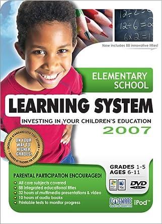 Amazon.com: Elementary School Learning System 2007 (Win/Mac): Software